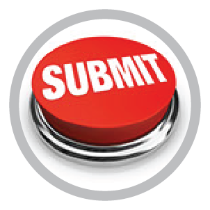 Image of red button with the word submit in bold white letters